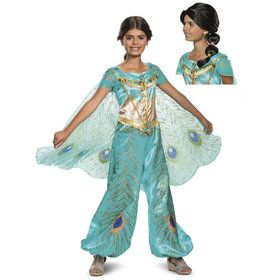 Child Aladdin Princess Jasmine Deluxe Costume Kit