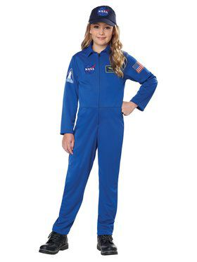Child NASA Jumpsuit Costume
