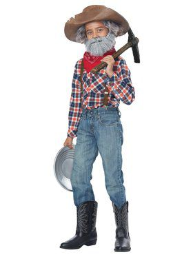 Child Prospector Kit Costume