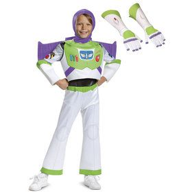 Child Toy Story Buzz Lightyear Deluxe Costume Kit