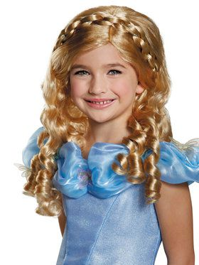 Childrens Cinderella Movie Wig