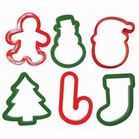 Christmas Assorted Cookie Cutter Set (6)