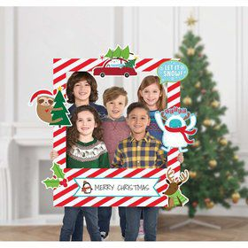 Christmas Giant Photo Frame with Props