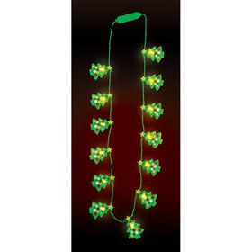 Christmas Tree Light Up Necklace (1)