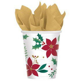 Christmas Wishes 9oz Paper Cups