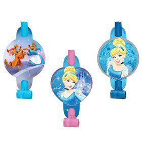 "Cinderella 5"" Blowouts (8 Pack)"