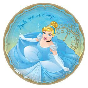 Cinderella Lunch Plates (8)