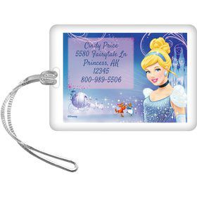 Cinderella Personalized Luggage Tag (Each)