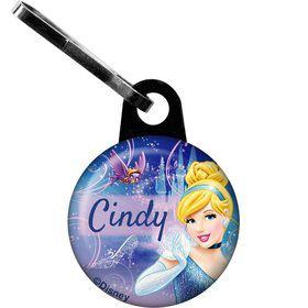 Cinderella Personalized Zipper Pull (Each)