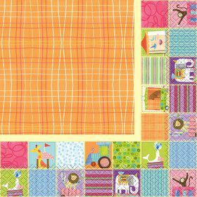 Circus Animal Lunch Napkin (16)