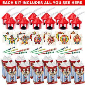 Circus Favor Kit (For 12 Guests)
