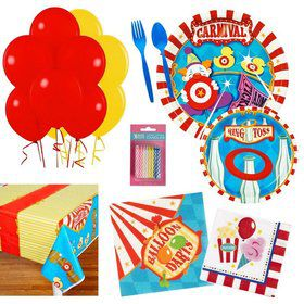Circus Party Essentials Kit (Serves 16)