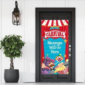 Circus Party Personalized Banner 30 X 60 Inches (Each)