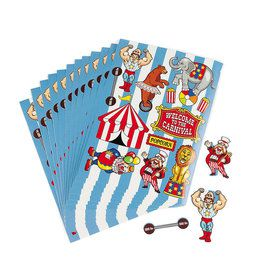 Circus Party Sticker (12-pack)