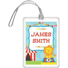 Circus Personalized Bag Tag (Each)