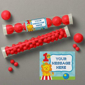 Circus Personalized Candy Tubes (12 Count)