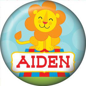 Circus Personalized Mini Button (Each)