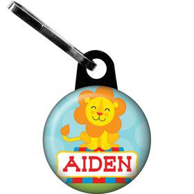 Circus Personalized Mini Zipper Pull (Each)