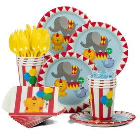 Circus Standard Tableware Kit (Serves 8)