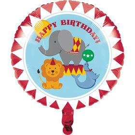 "Circus Time 18"" Metallic Balloon (Each)"