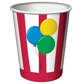 Circus Time 9oz Cups (8 Count)