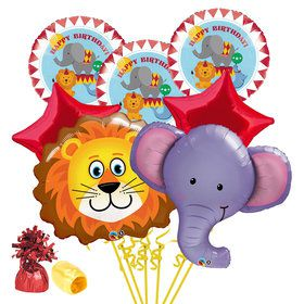 Circus Time Birthday Balloon Bouquet Kit