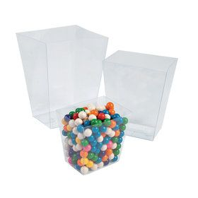 Clear Candy Buffet Containers (6 Count)