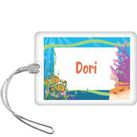 Clownfish Personalized Bag Tag (each)