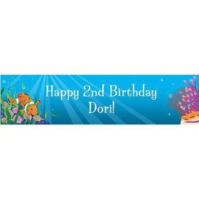 Clownfish Personalized Banner (each)