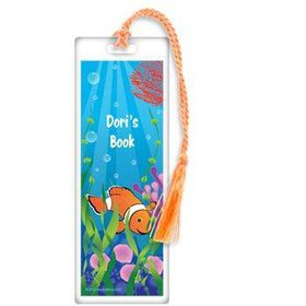 Clownfish Personalized Bookmark (each)