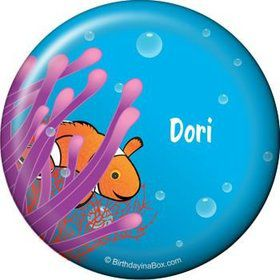 Clownfish Personalized Button (each)