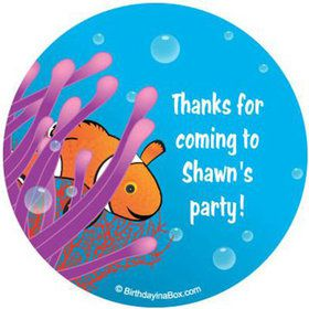 Clownfish Personalized Stickers (sheet of 12)
