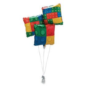 Color Brick Party Mylar Balloon (3)