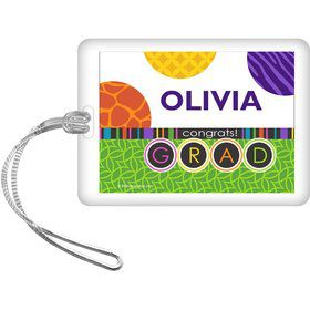 Colorful Graduation Personalized Bag Tag (Each)