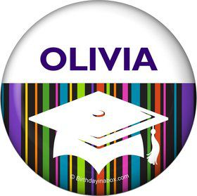 Colorful Graduation Personalized Magnet (Each)