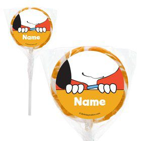 "Comic Strip Kids Personalized 2"" Lollipops (20 Pack)"