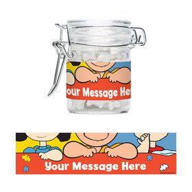 Comic Strip Kids Personalized Glass Apothecary Jars (10 Count)