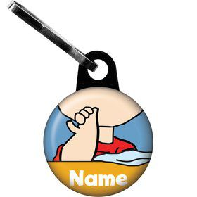 Comic Strip Kids Personalized Zipper Pull (Each)
