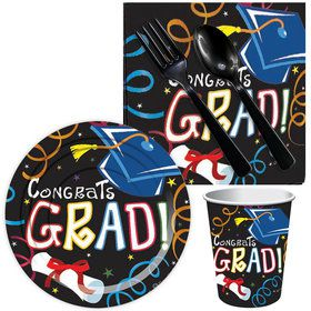 Congrats Grad Colorful Snack Pack (16 Count)