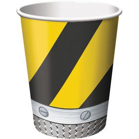 Construction 9oz Cups (8 Pack)