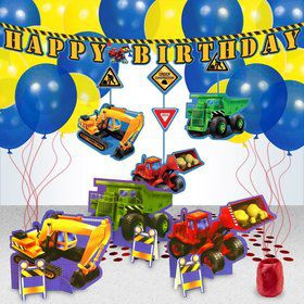 Construction Party Decoration Kit