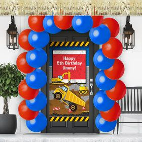 Construction Party Doorway Decoration Kit