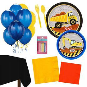 Construction Party Essentials Kit (Serves 16)