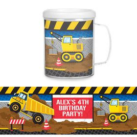 Construction Party Personalized Favor Mug (Each)