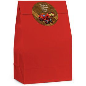 Construction Personalized Favor Bag (Set Of 12)