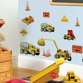 Construction Removable Wall Decorations