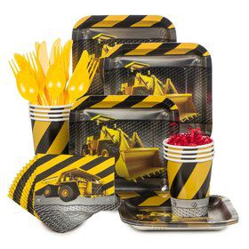 Construction Standard Tableware Kit (Serves 8)