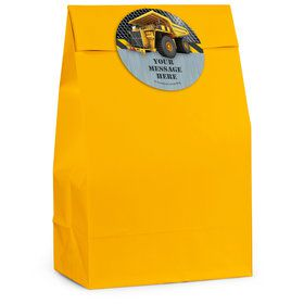 Construction Zone Personalized Favor Bag (12 Pack)