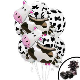 Cow Jumbo Balloon Bouquet