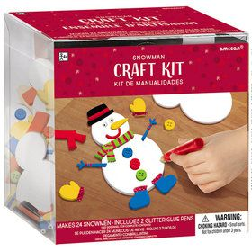 Craft Snowman Kit (Makes 24 Snowmen)